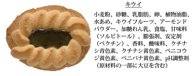 リーフロシア原材料(キウイ)