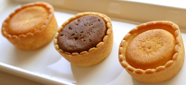 3種のソフトな口当たりのタルトケーキ【ソフトガトー】